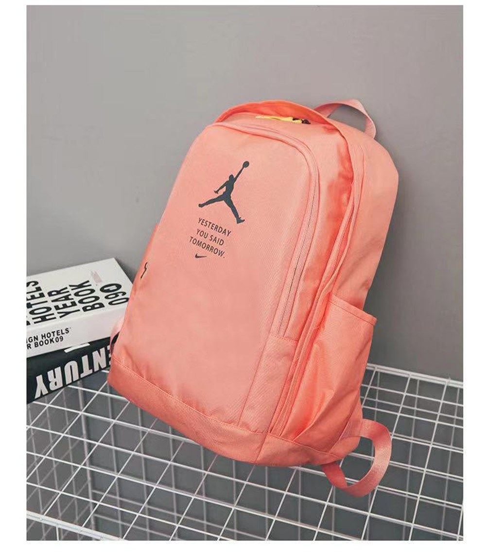 05448-1 PF65 Nike Air Jordan Orange Black Jumpman Wing Logo
