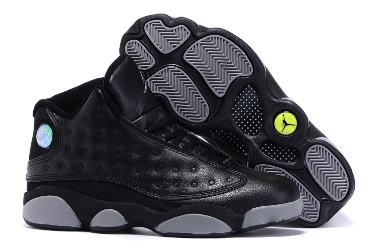 2015 Air Jordan 13 Doernbecher Black Grey Shoes