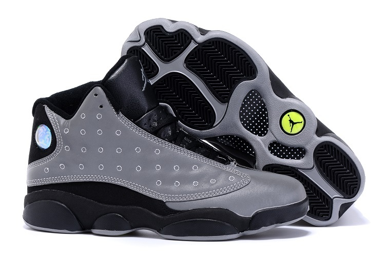 2015 Air Jordan 13 Doernbecher Grey Black Shoes