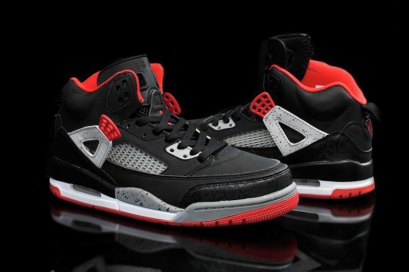 2015 Air Jordan 3.5 Black Red Grey Shoes