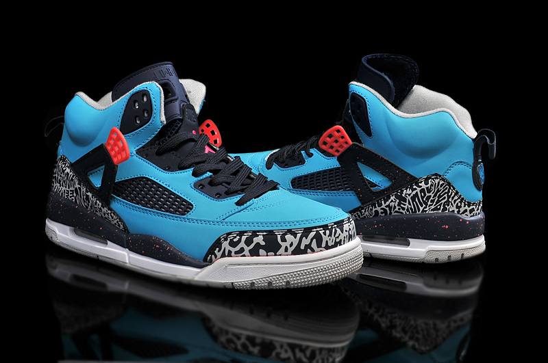2015 Air Jordan 3.5 Blue Black Red Shoes