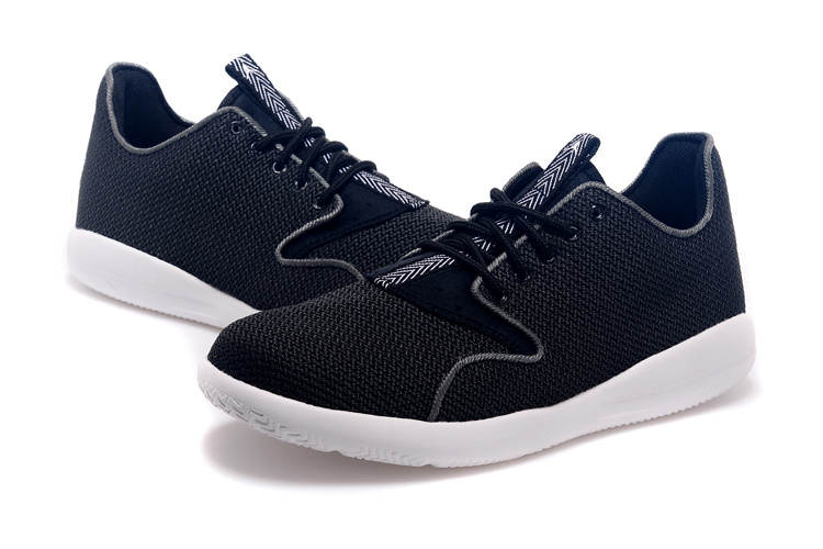 2015 Air Jordan Eclipse Black White Shoes