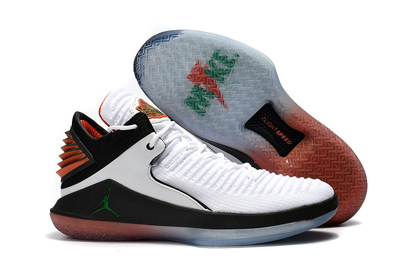2017 Air Jordan 32 Low Gatorade White Pine Green Black