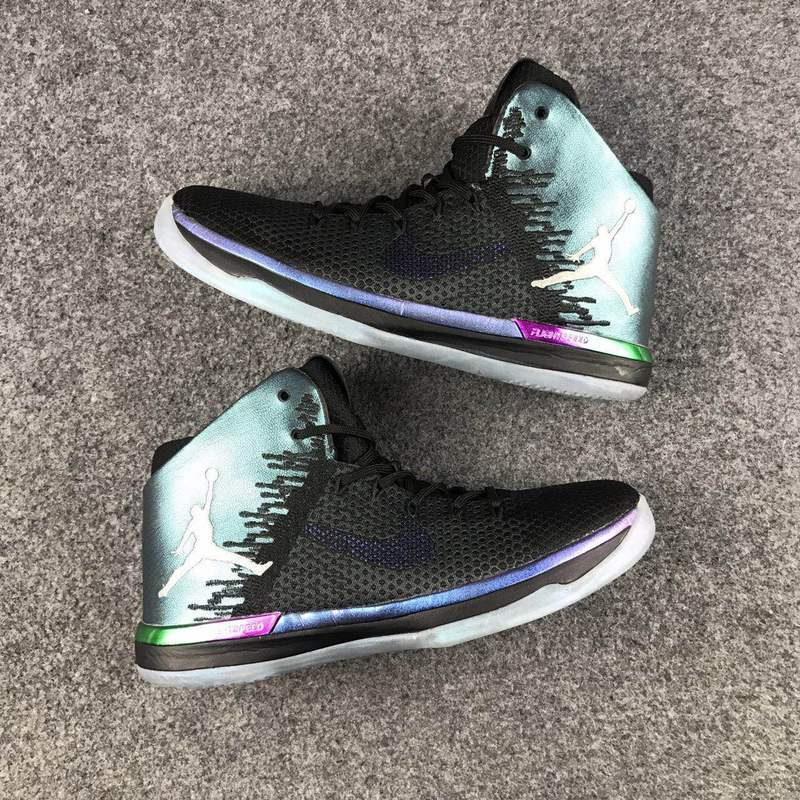 2017 Jordan 31 Black Green Basketball Shoes