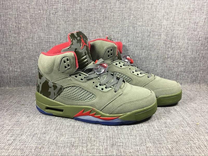 9434e56dc13d97 2017 Jordan 5 Camo Green Shoes  WOMEN794  -  93.00   Women Jordan ...