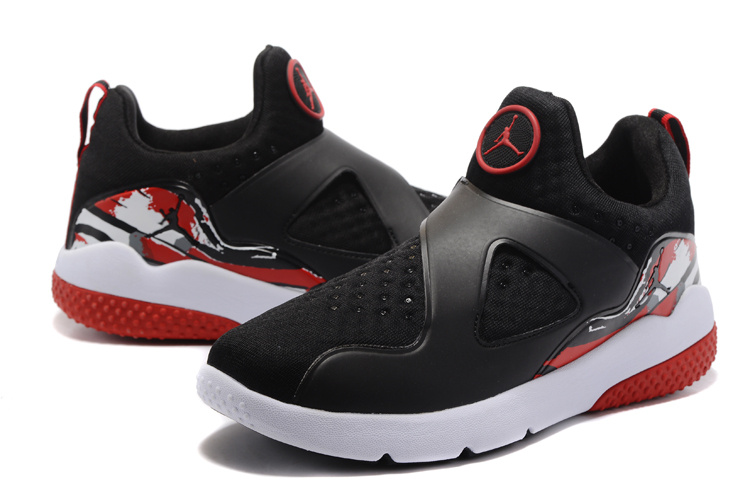 2017 Jordan 8 Training Shoes Black True Red White
