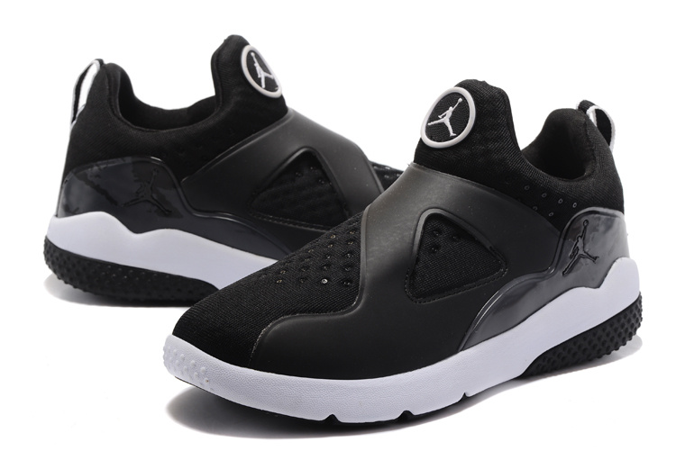 2017 Jordan 8 Training Shoes Black White