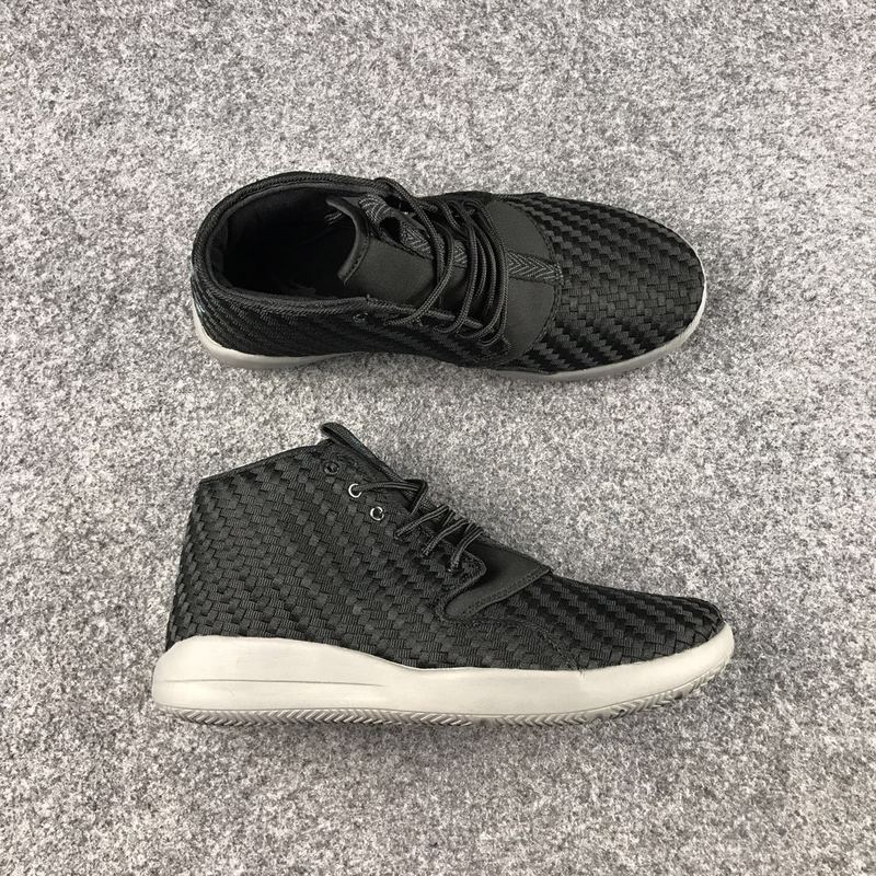 2017 Jordan Eclipse III All Black White Shoes