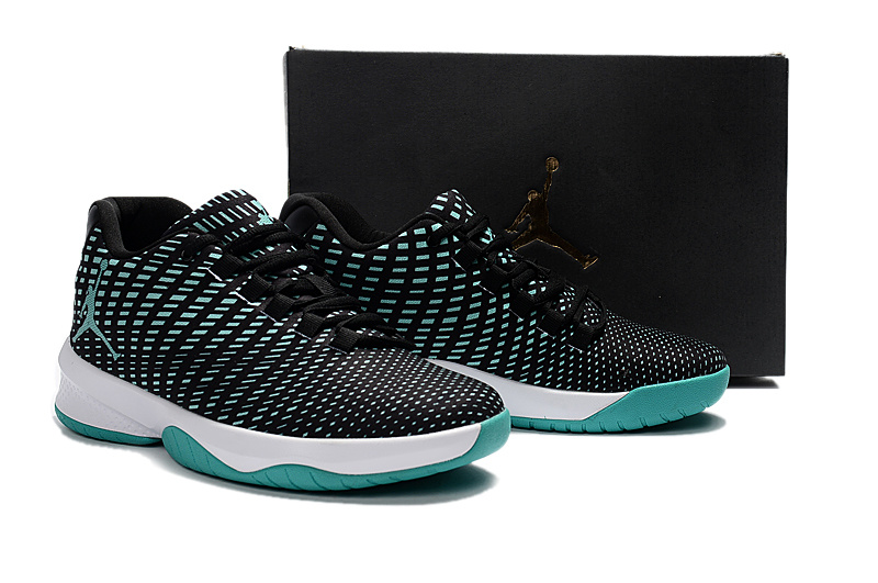 2017 Men Black Green Jordan Basketball Shoes