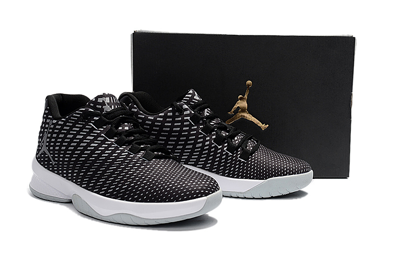 2017 Men Black White Jordan Basketball Shoes