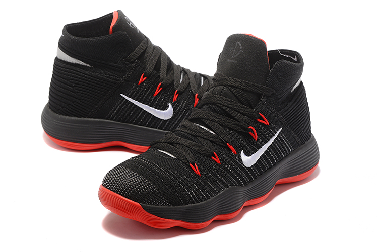 New Nike Hyperdunk 2017 Black Red Basketball Shoes