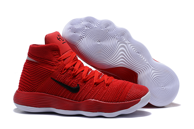 New Nike Hyperdunk 2017 Bold Red Basketball Shoes