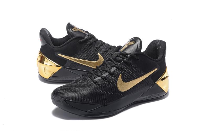 3a1b30288f46 2017 Nike Kobe 12 AD Black Gloden Shoes  18women2602  -  85.00 ...