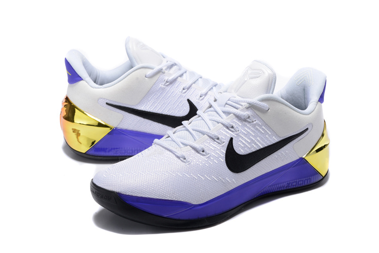 pretty nice a65c2 06faf low price nike kobe 12 black volt white mens basketball shoes 2017 release  8e8a2 cb137; uk 2017 nike kobe 12 ad white purple shoes fa3cc d113e