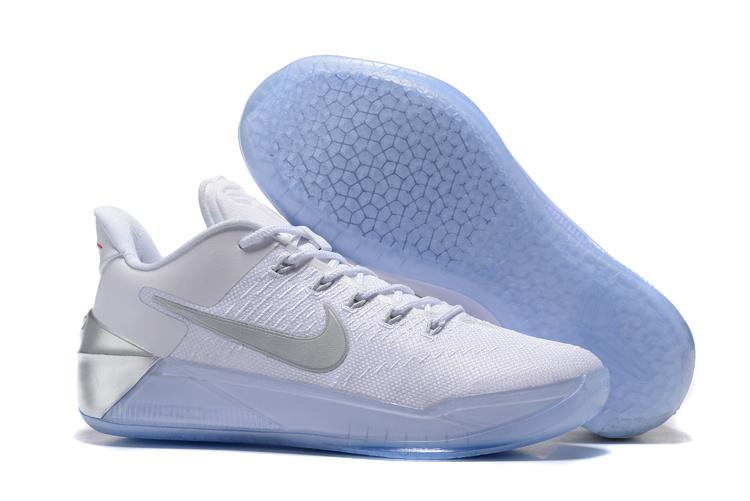 2ac207bdd18b 2017 Nike Kobe 12 AD White Sliver Shoes  18women2610  -  85.00 ...