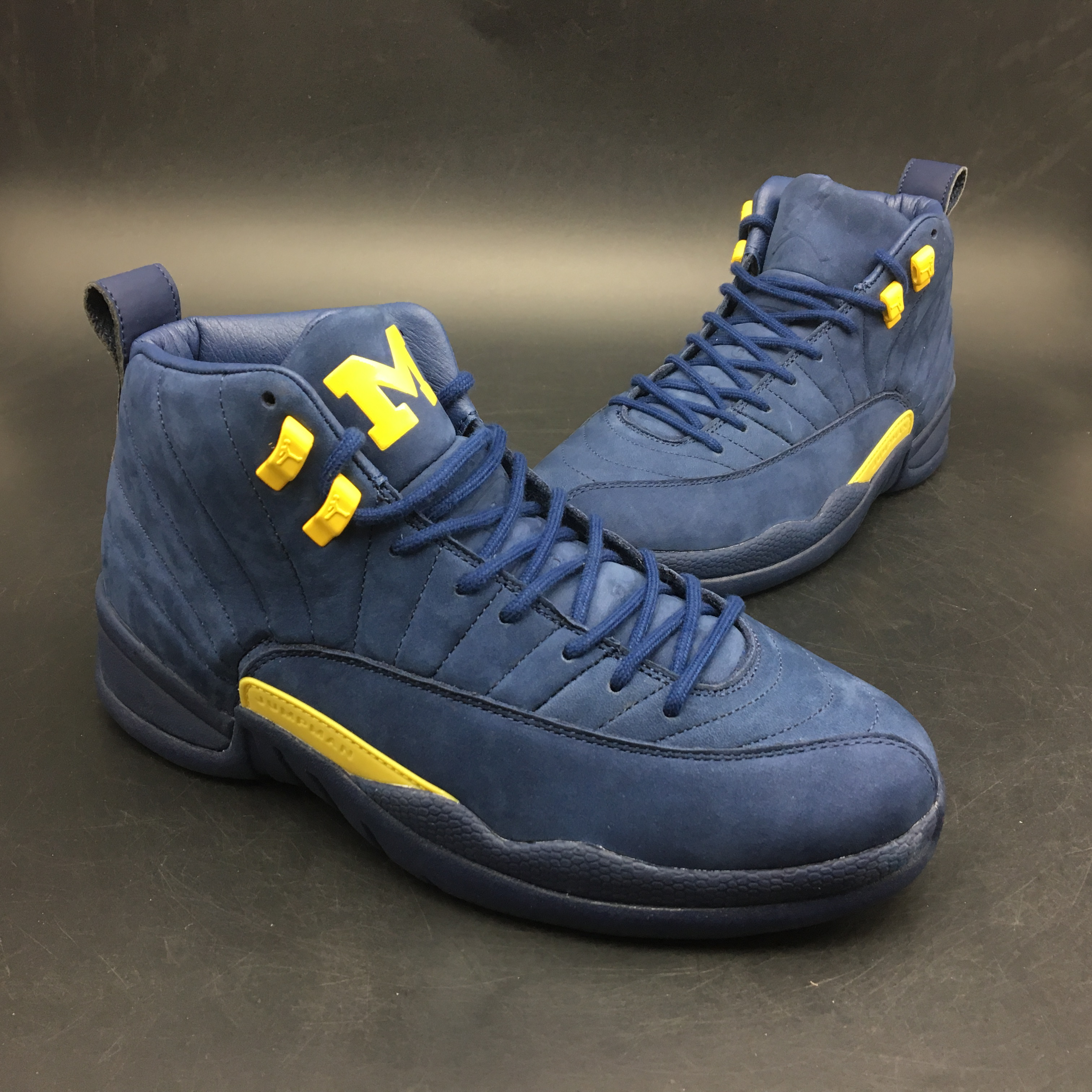 size 40 ac33b 8511e canada air jordan 12 mens yellow blue cb79e 3ae26