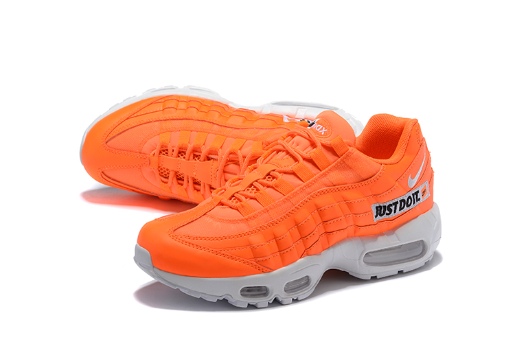2018 Men Nike Air Max 95 Orange Grey Running Shoes