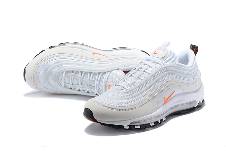 2018 Men Nike Air Max 97 White Orange