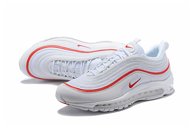 2018 Men Nike Air Max 97 White Red