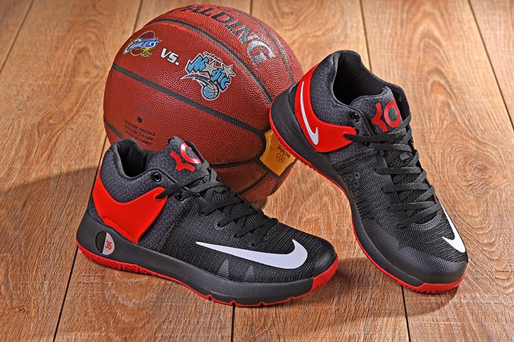 879ff6df2dc8 2018 Men Nike KD Trey 5 IV Black Red Shoes