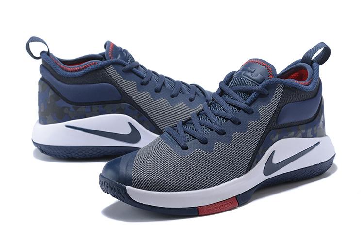 95497546891a5e 2018 Men Nike Lebron Witness 2 Grey Blue Black Shoes  18women51203 ...