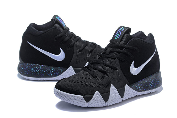 2018 Nike Kyrie 4 Black White Shoes For Women