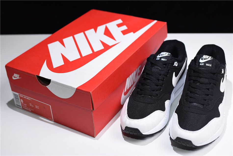 2018 New Releases Nike Air Max 1 Black and White