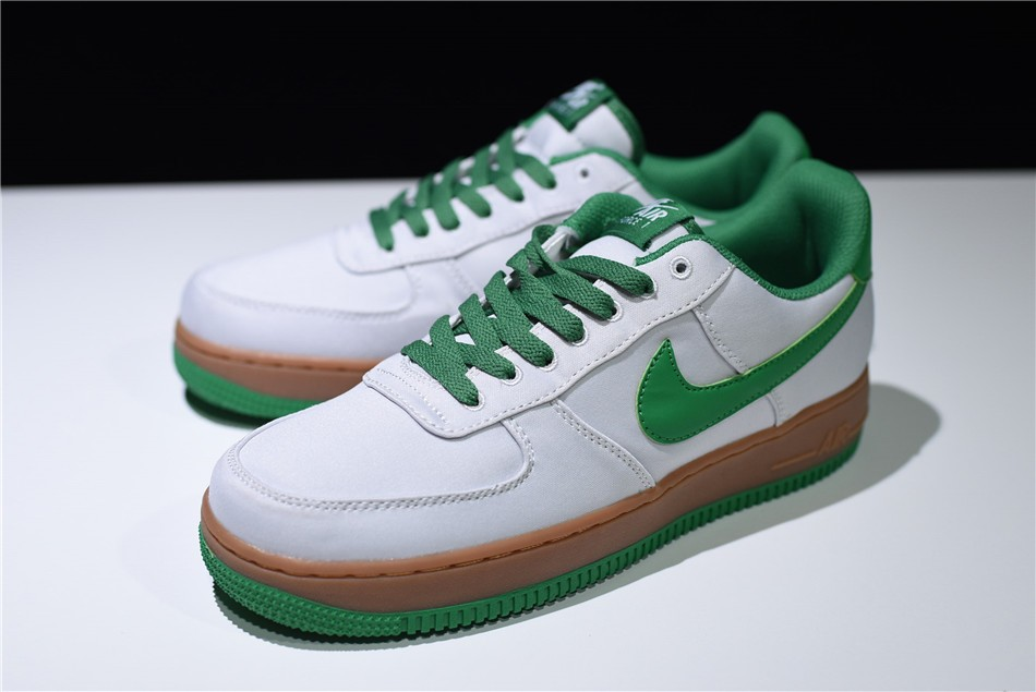 2018 mens nike air force 1 txt light bone aloe verde