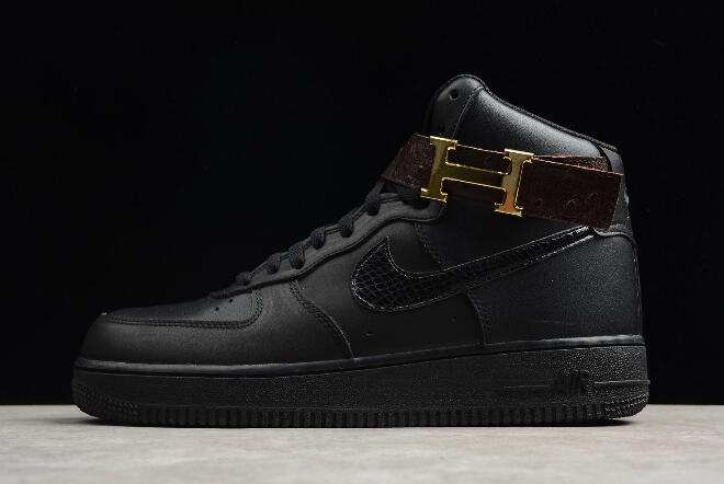 2018 mens nike air force 1 mid 07 triple black