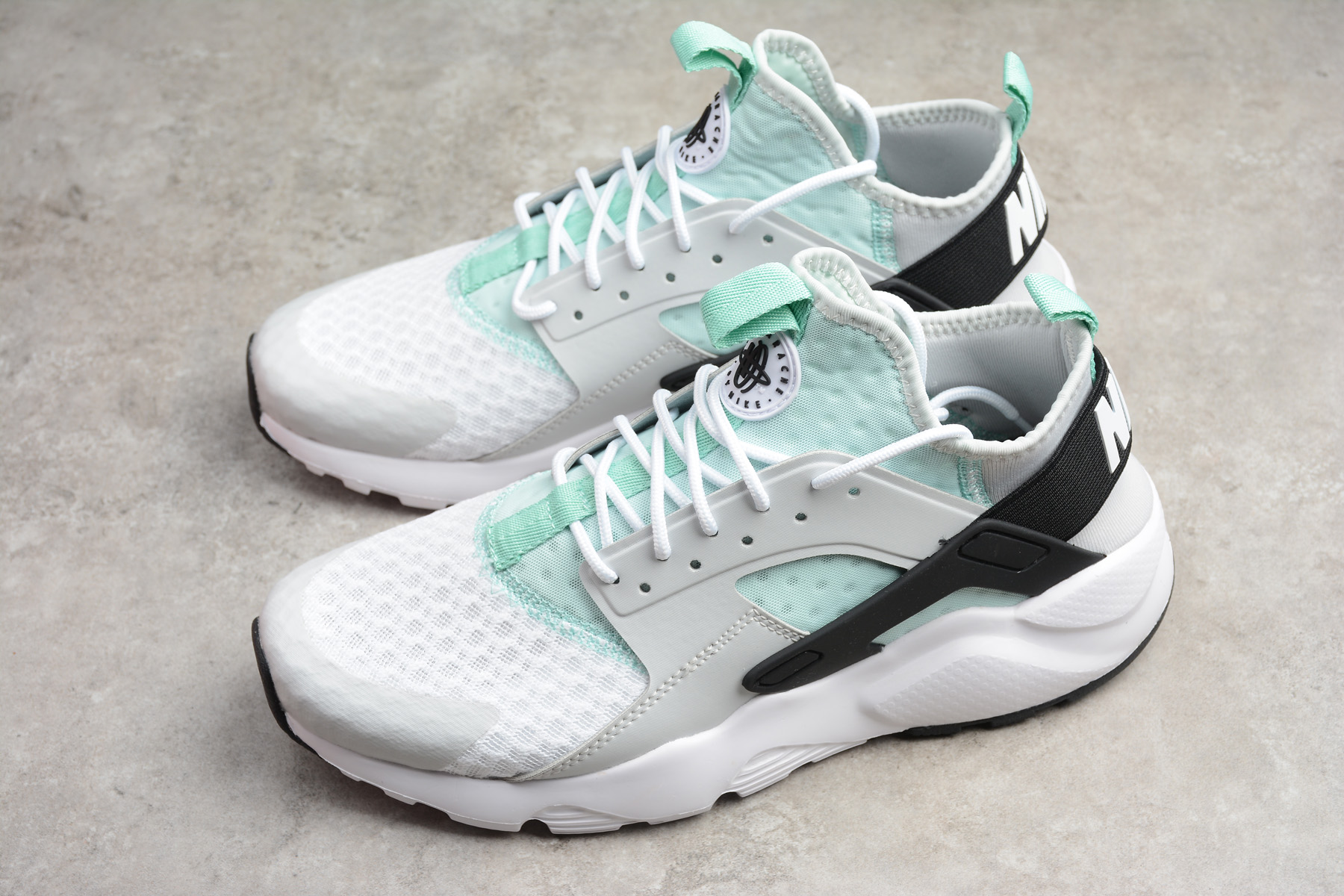 25d095b015f9 2018 nike air huarache run ultra pure platinum black igloo