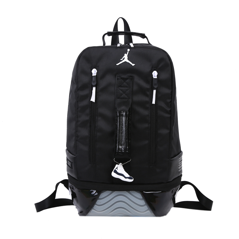 2019 Air Jordan 11 Backpack Black Grey