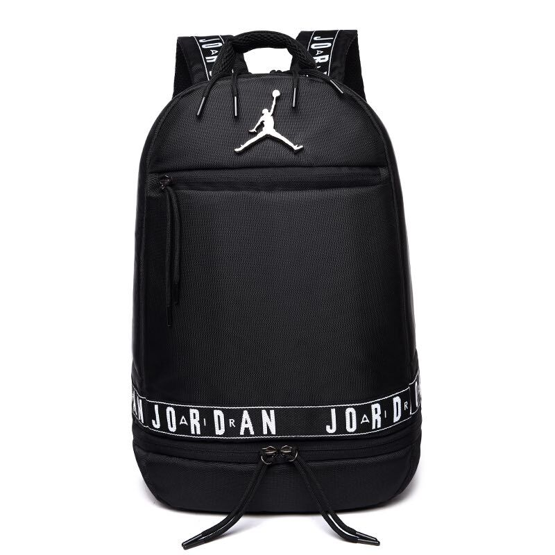 2019 Air Jordan 11 Backpack Black White Jumpman