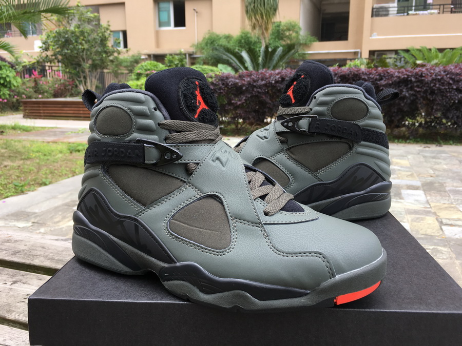 2019 Men Air Jordan 8 Sequoia Shoes