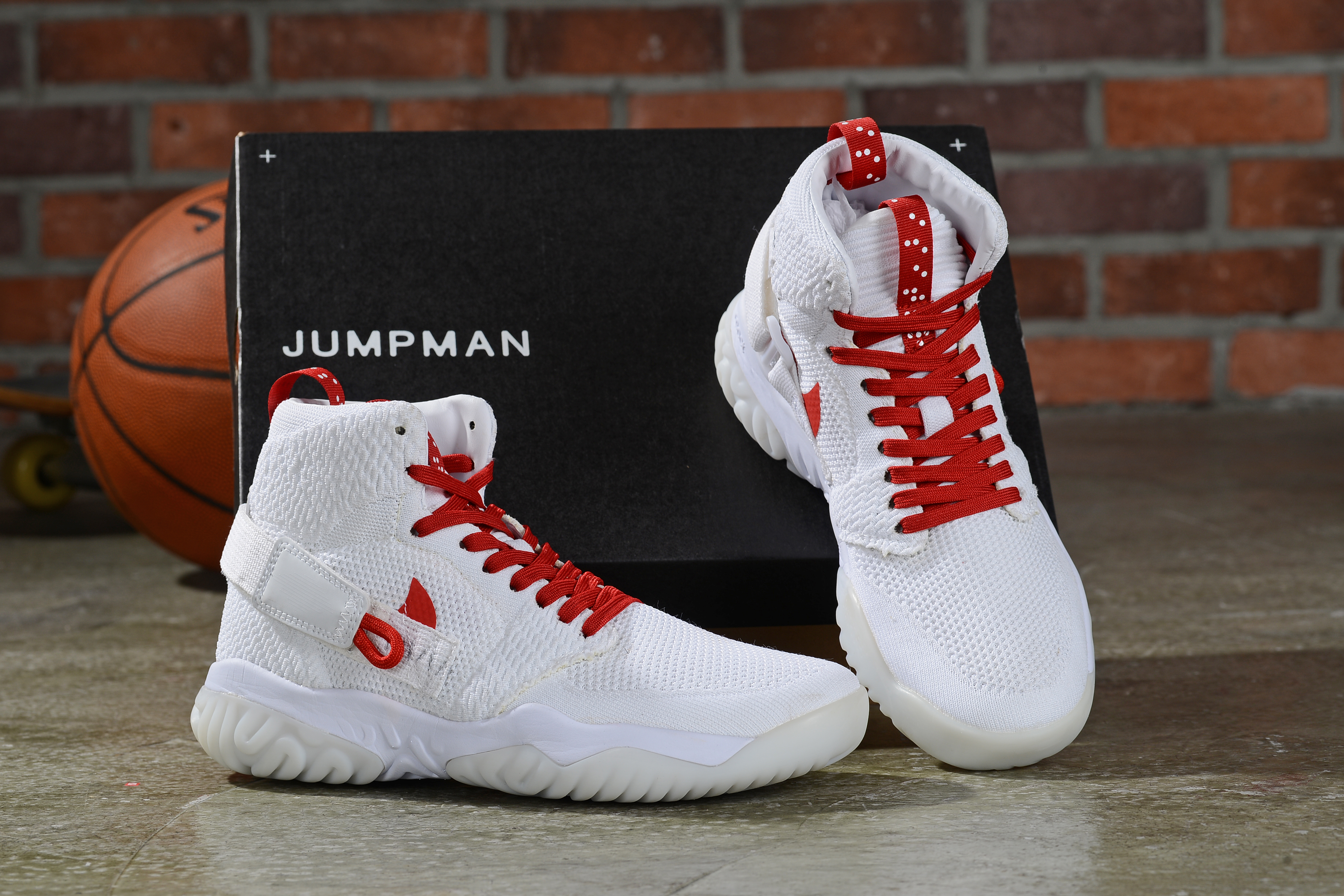 2019 Men Air Jordan Apex-React White Red Shoes