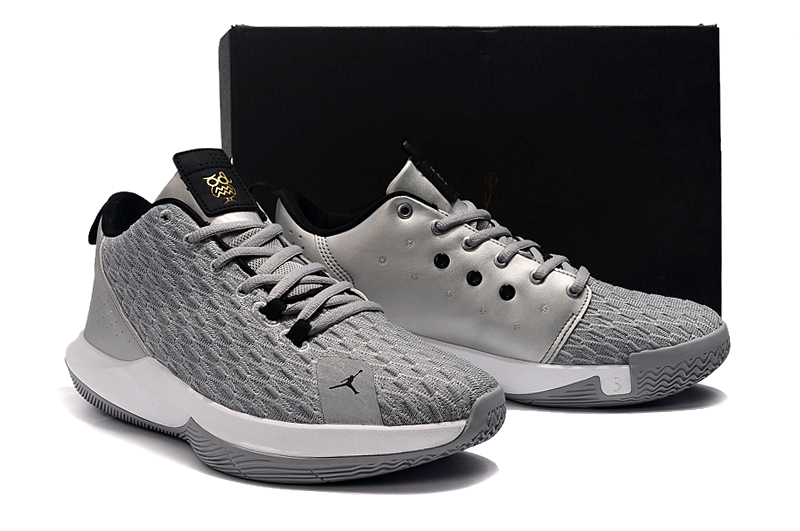 2019 Men Jordan CP3 12 Grey Shoes