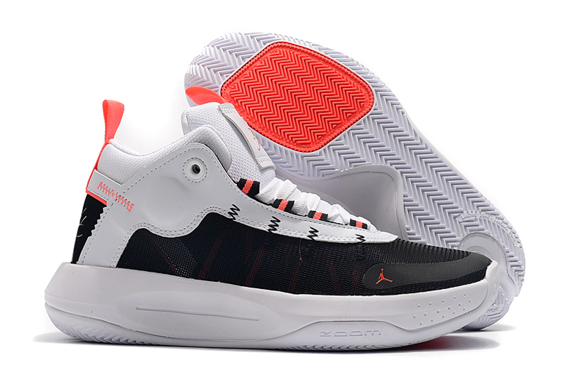 2019 Men Jordan Jumpman 2020 PF White Black Red Shoes