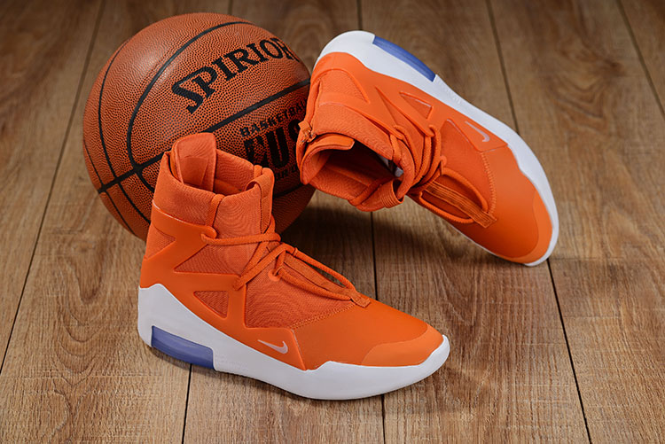 2019 Men Nike Air Fear of God Orange White Shoes