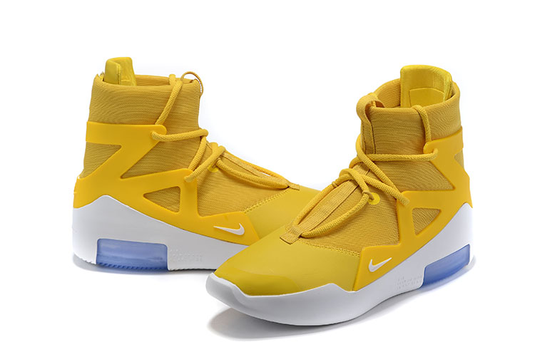 2019 Men Nike Air Fear of God Yellow Shoes