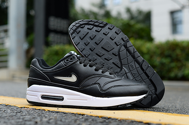 2019 Men Nike Air Max 90 Black White Shoes