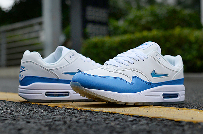 2019 Men Nike Air Max 90 Grey Blue Shoes
