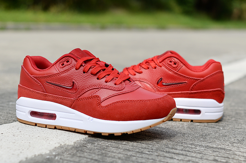 2019 Men Nike Air Max 90 Hot Red White Shoes