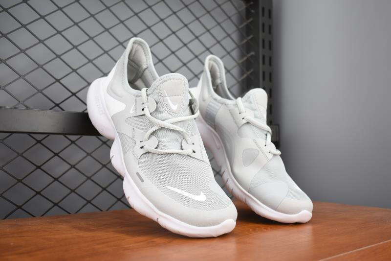 2019 Men Nike Free 5.0 Wolf Grey Training Shoes