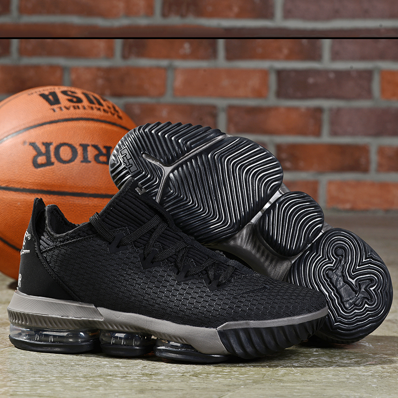 2019 Men Nike LeBron James 16 Low Black Shoes