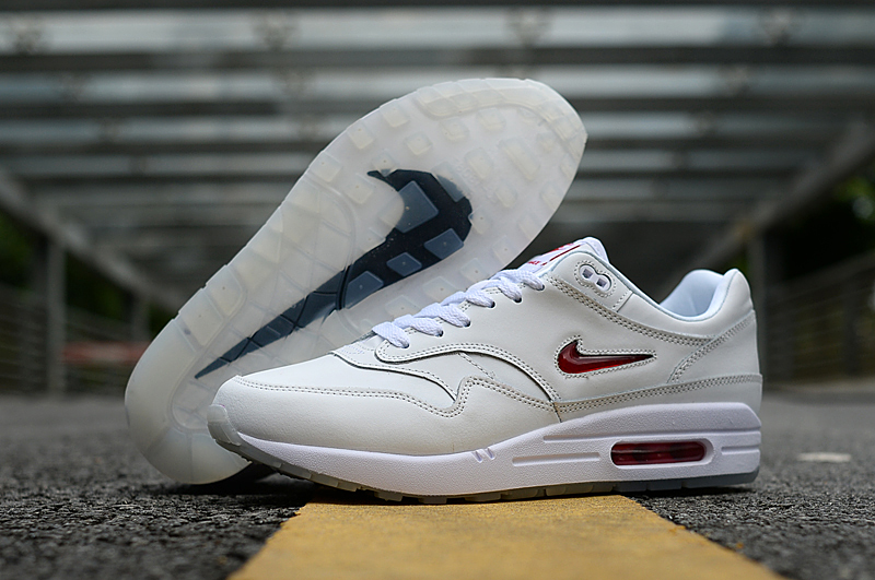 2019 Nike Air Max 90 Grey Red Logo Shoes