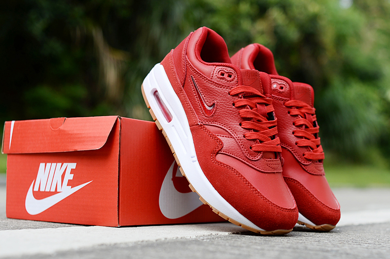 2019 Nike Air Max 90 Hot Red White Shoes