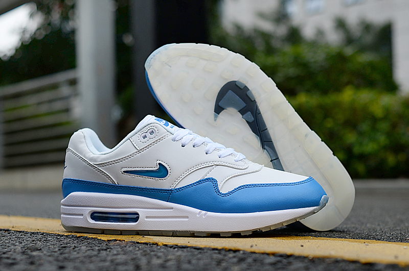 2019 Nike Air Max 90 White Blue Shoes