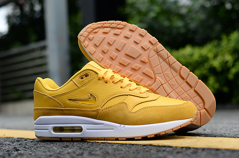 2019 Nike Air Max 90 Yellow White Shoes