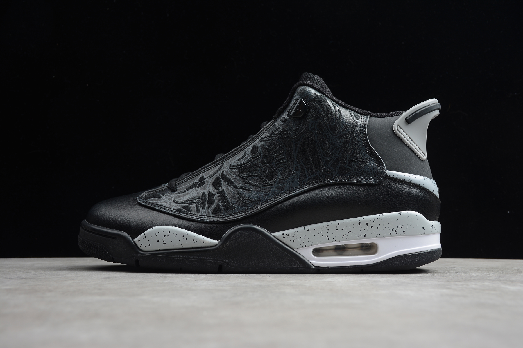 2020 Jordan DUB Zero Black Grey Shoes