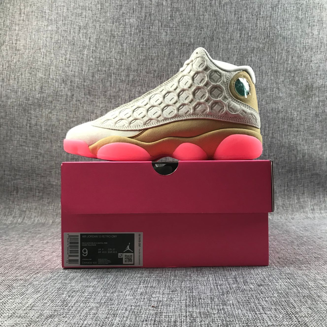 2020 Men Air Jordan 13 Chinese New Year Element Shoes