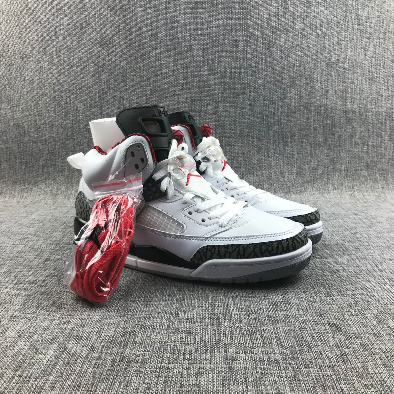 2020 Men Jordan Spizike GG White Volt Black Shoes
